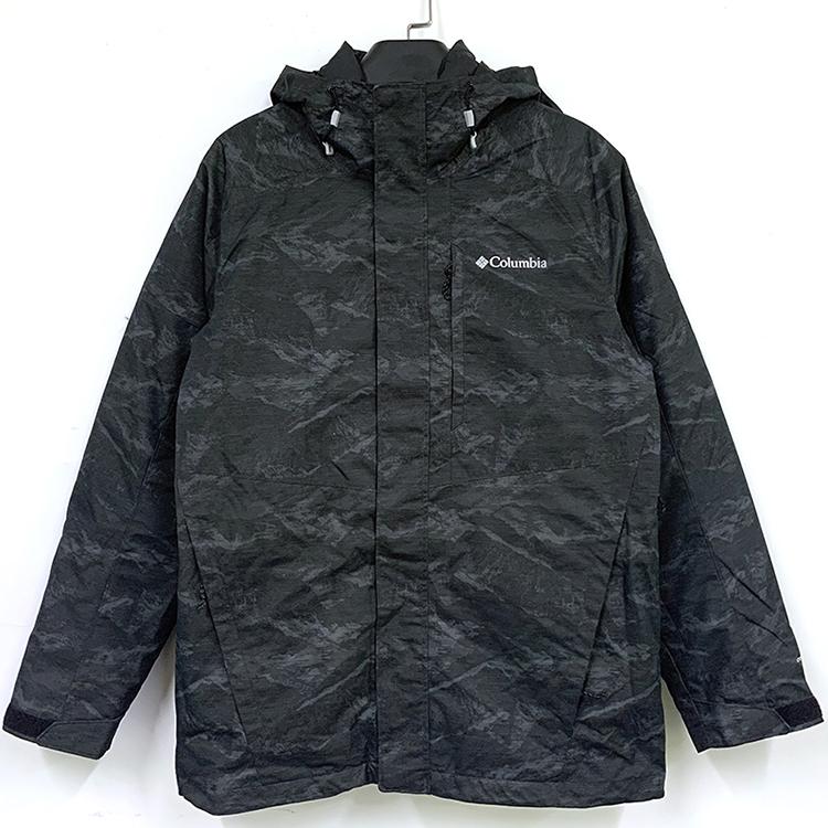 紐約專代現貨Columbia哥倫比亞男秋冬季三合一熱反射厚防水沖鋒衣保暖外套