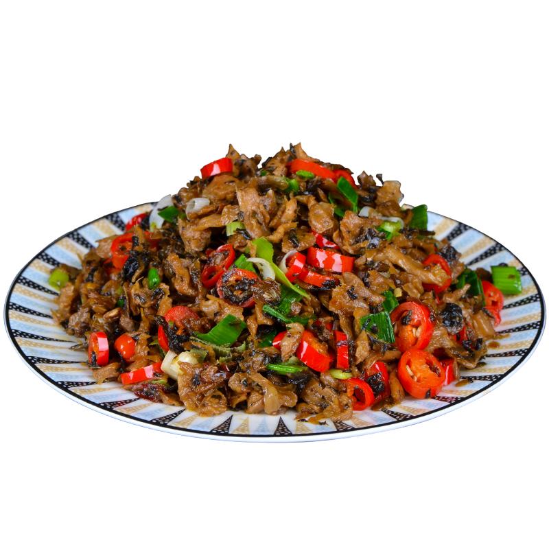 湘西外婆菜5袋 湖南特产开胃下饭菜农家自制香辣酱菜咸菜干萝卜条