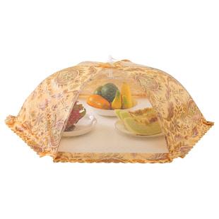 菜罩大号折叠食物罩伞