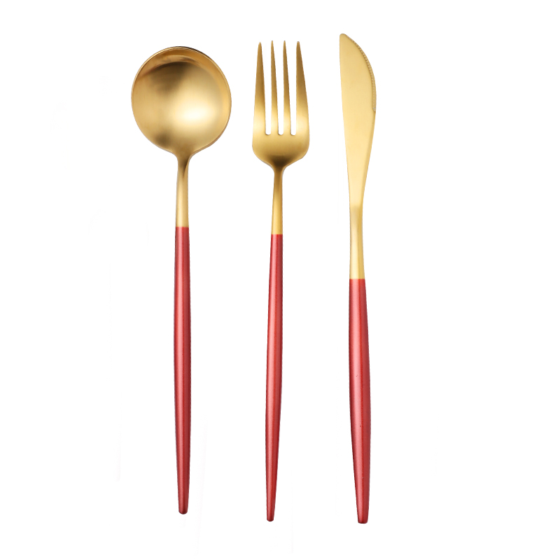 Red Gold (cutlery Spoon)