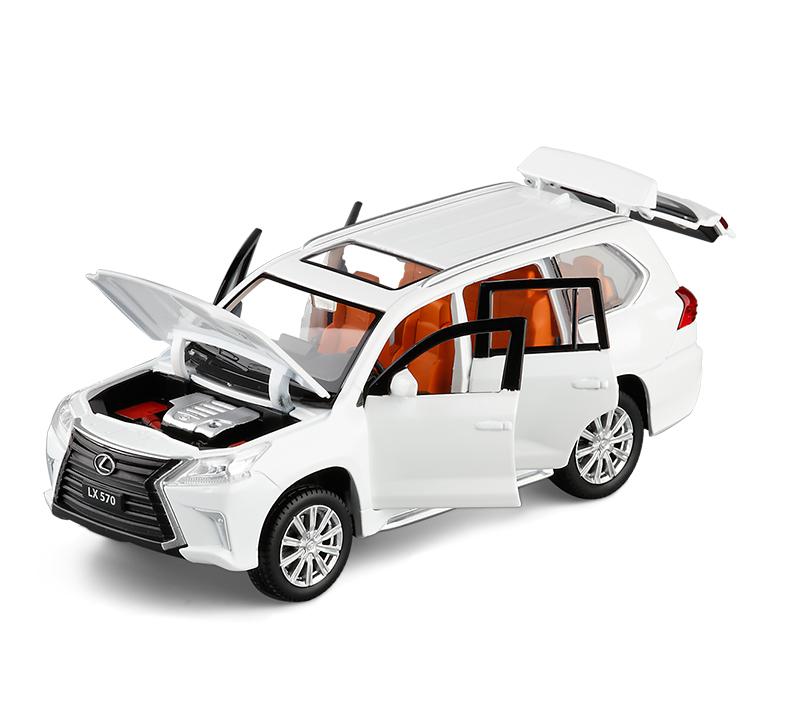 Xe mô hình tĩnh Lexus 570 tỉ lệ 1:32 - ảnh 1