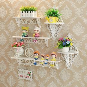 Подвесные полки,  Стена стеллажи современный простой гостиная спальня телевидение стена метоп декоративный настенный стена на доска перфорация, цена 144 руб