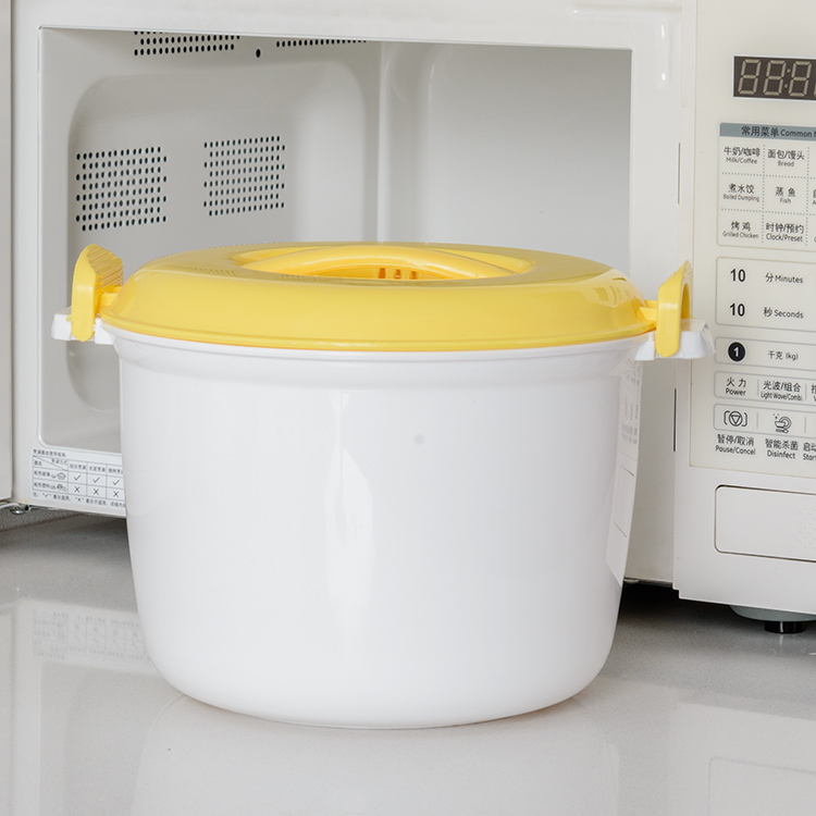 King Size Microwave Oven Rice Cooker Steamed Bento Box Steamer Cooked Utensils