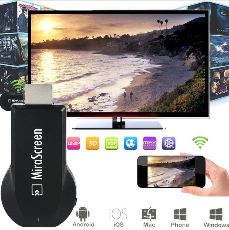 Wireless WiFi HDMI TV Dongle Video Adapter for iPad iPhone