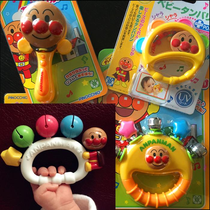 Сейчас в надичии япония подлинный супермен ребенок звезды погремушка цвет колокол кольцо доска хрип песок игрушка