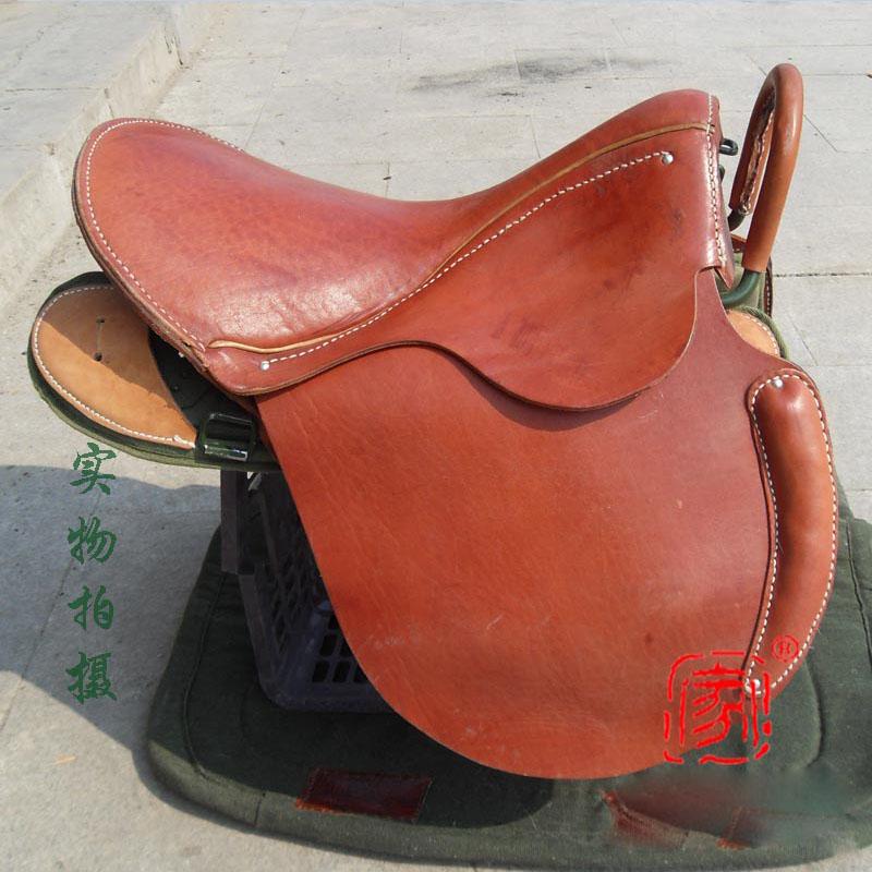 Типы седловины 95 лошади монгольской седловины воронопегие седлают толстая Стальной каркас верх подождите кожаный Проводка седловины седловины