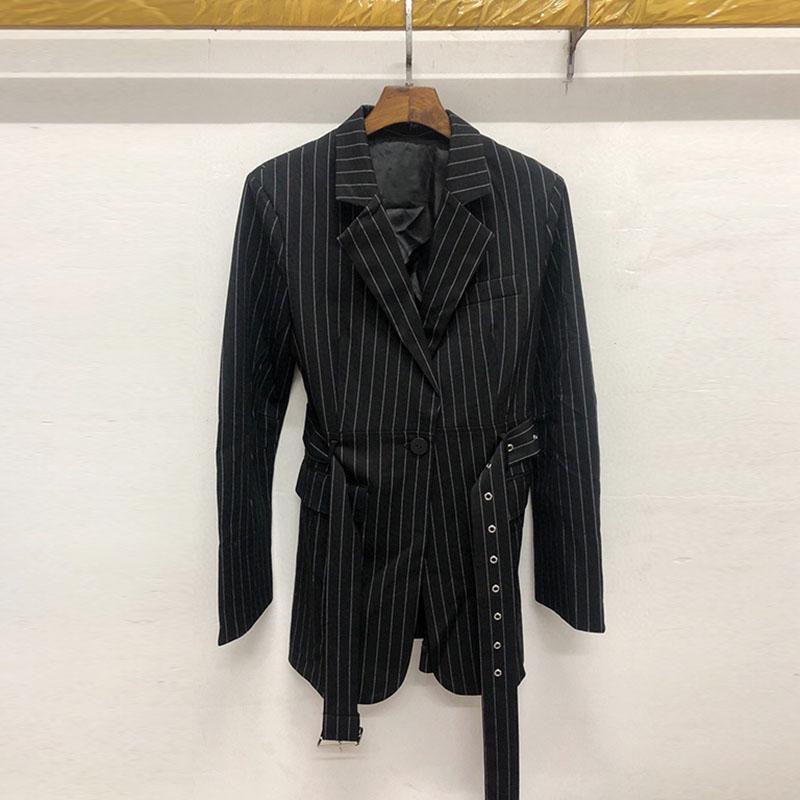 LILY UR HF2020 mùa xuân Tao Lili áo sọc mỏng phù hợp với áo khoác 1120110C2212 - Business Suit