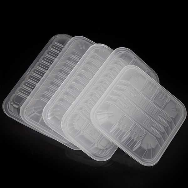 、。一次性生鲜水果托盘包装盒pp半透明原创盒2013蔬菜盒韩款打包