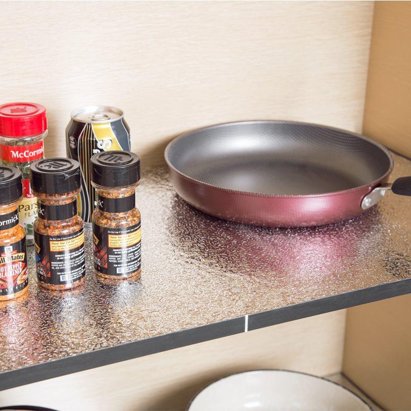 厨房橱柜防水隔潮垫加厚厨柜柜子防滑自粘型抽屉背胶防尘卧室防霉