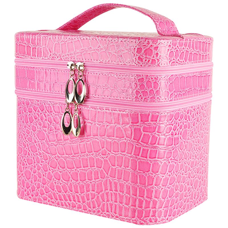 网红化妆箱手提化妆品收纳盒便携