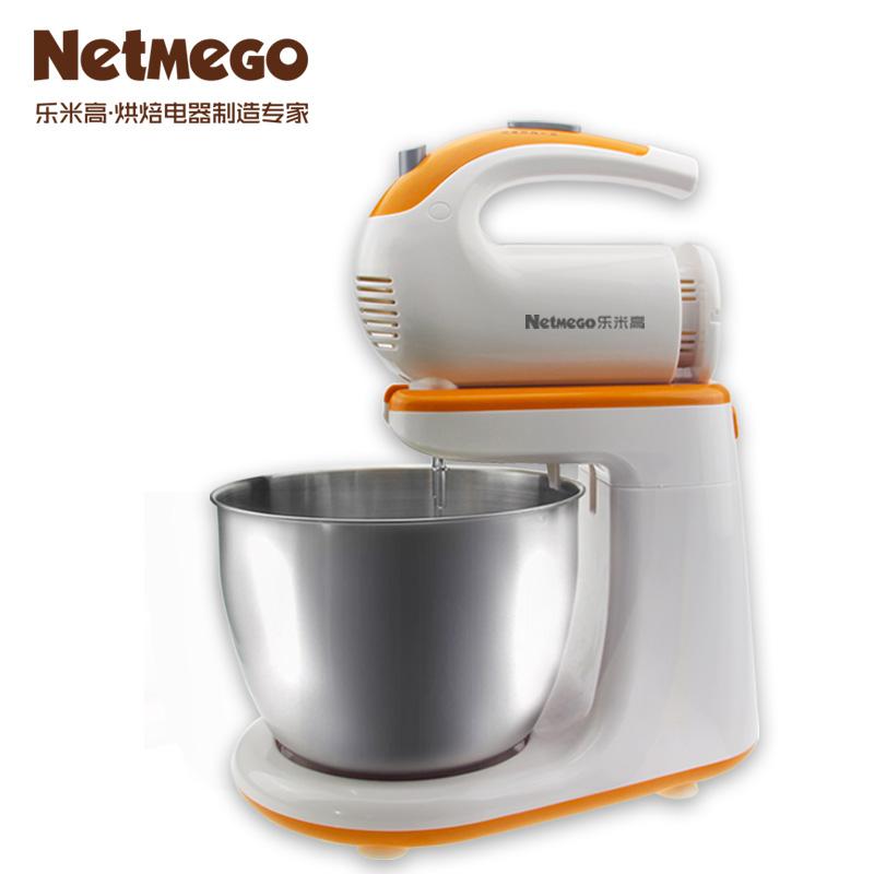 乐米高台式手持两用全自动电动打蛋器带桶家用打蛋机和面机奶油机