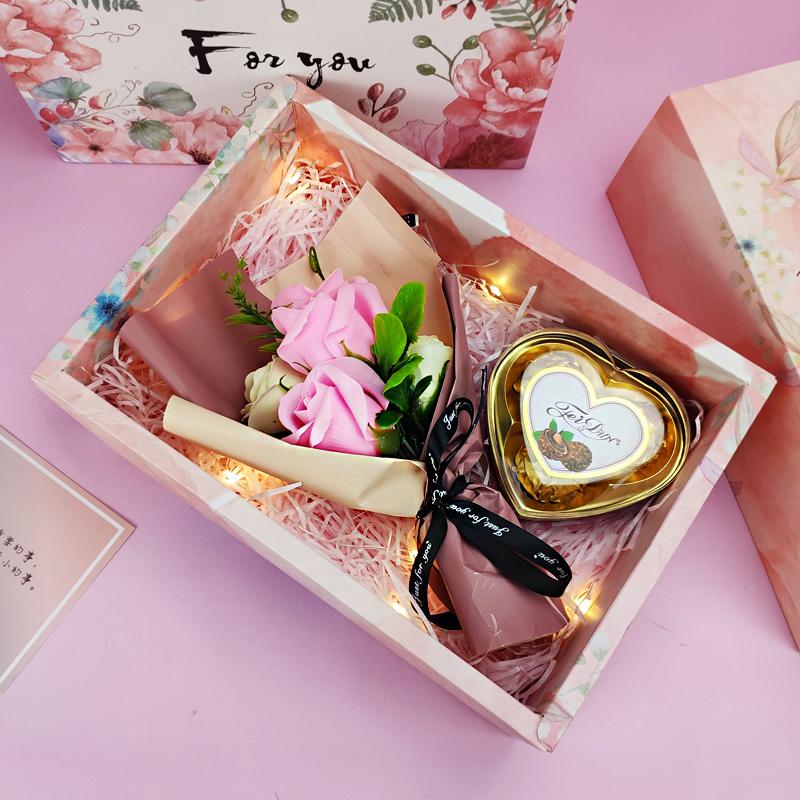 情人节生日礼物女送女生女友朋友闺蜜浪漫实用特别元旦新年