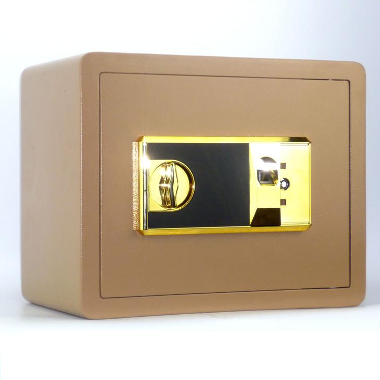 25 nhà mini nhỏ an toàn văn phòng chống trộm an toàn mật khẩu tường vô hình dấu vân tay thương mại hoạt động - Két an toàn