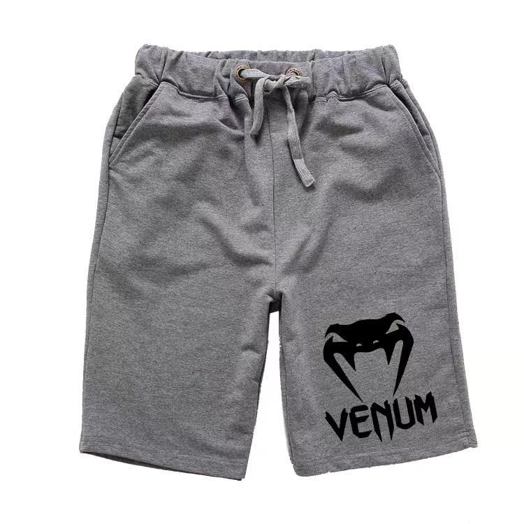 夏季男士散打裤子私人健身房教练搏击击a男士打拳训练短裤运动中裤