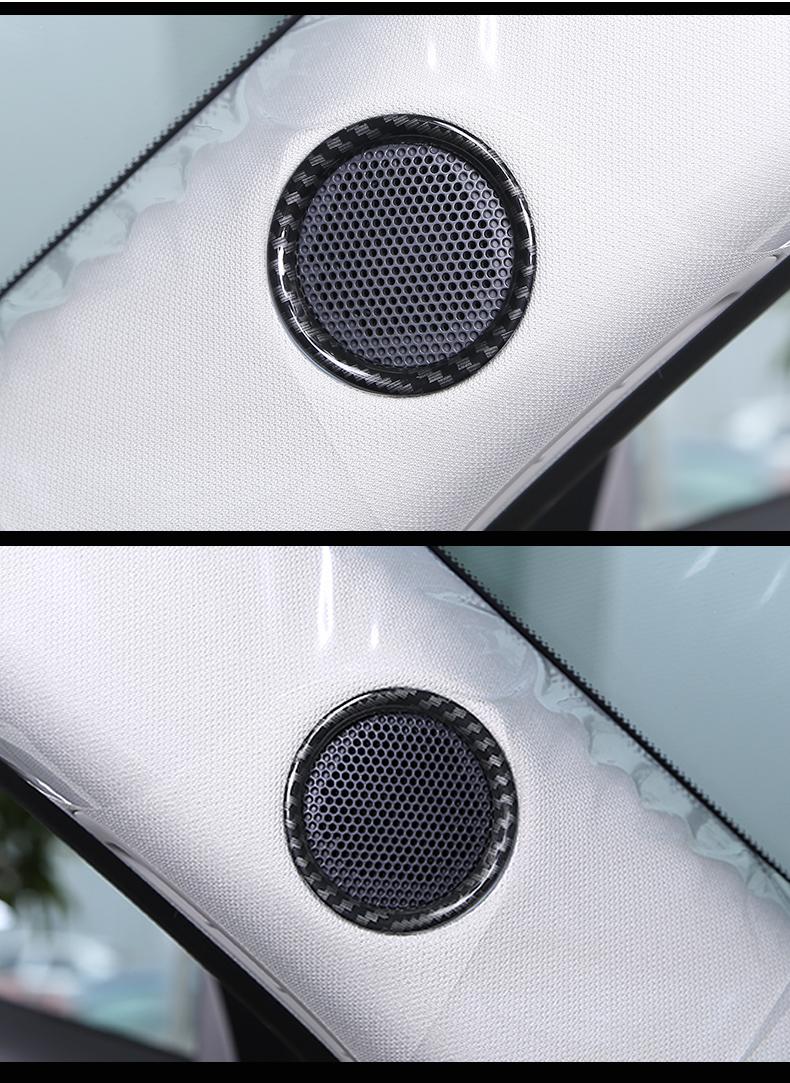 Ốp viền loa ghế trước xe Mazda CX-8 2019 - ảnh 15
