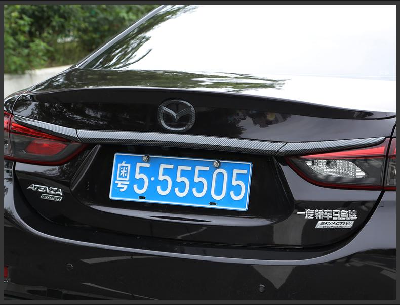 Ốp viền cốp sau nhiều màu Mazda 6 2014-2019 - ảnh 18