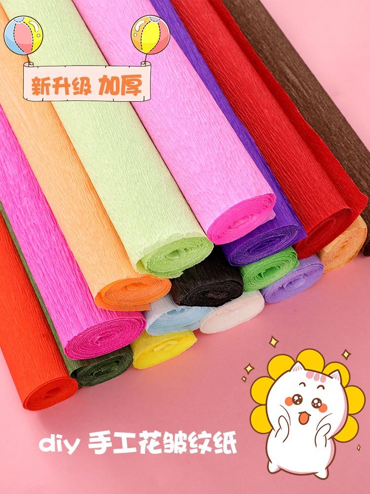 a9973ab0f7 ... Vrásčitý papier - oranžový červený krepový papier - oranžový krepový  papier - nebesky modrý 15   15 origami 100 listov