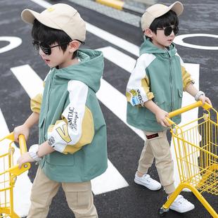 中大儿童外套秋季韩版薄款风衣