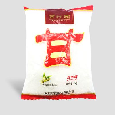 甘汁园白砂糖1000g袋装食用白糖砂糖蔗糖烘焙西点原料调味品家用