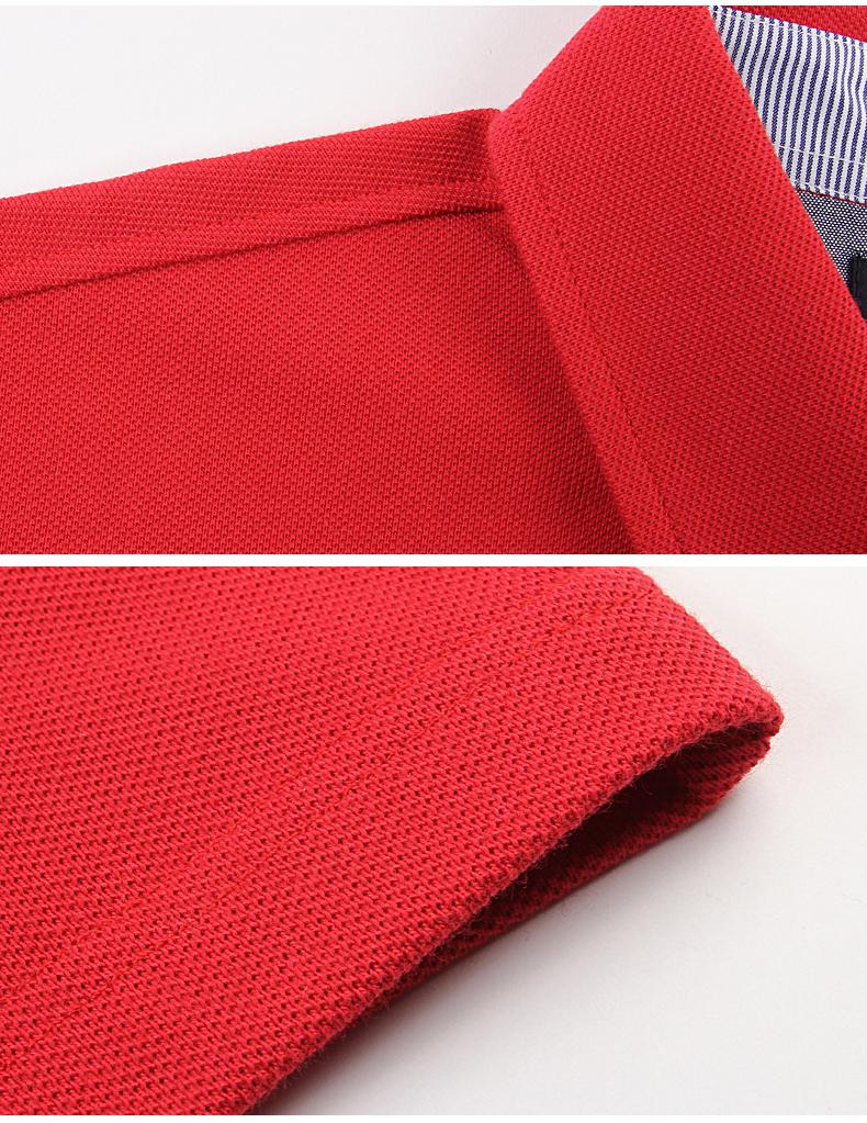 Regatta Club mùa xuân cotton t-shirt nam màu rắn ve áo dài tay Anh polo kinh doanh bình thường Polo áo sơ mi áo thun ba lỗ nam