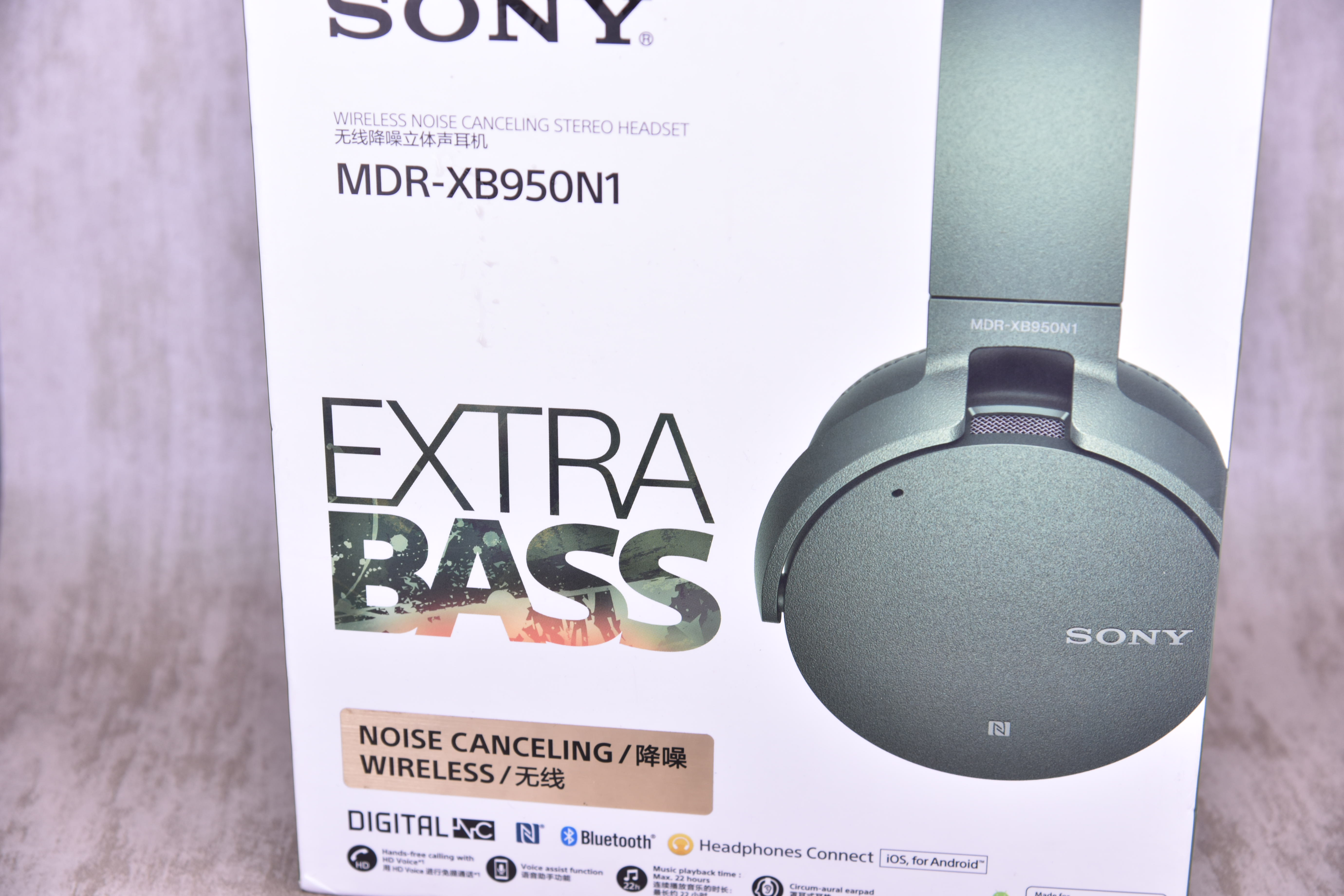 Usd 21081 Sony Mdr Xb950b1 Xb950n1 Xb650bt Bass Bluetooth Headphones Wireless Extra Noise Canceling Wearing Cancelling Headset Zoom Lightbox Moreview