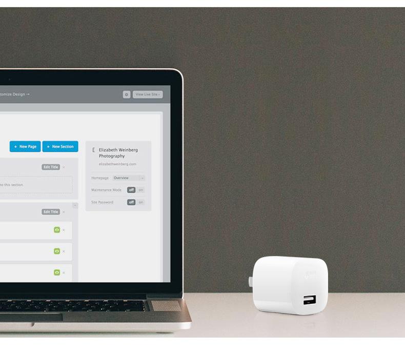 公牛智能手机充电器2A三星S6小米5华为安卓平板通用USB快充插头