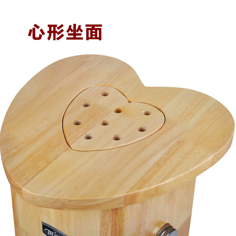 Moxibustion moxibustion moxibustion bench oak gynecological warm moxibustion box seat Ai Yi family type moxa Gong cold home sit smoke instrument