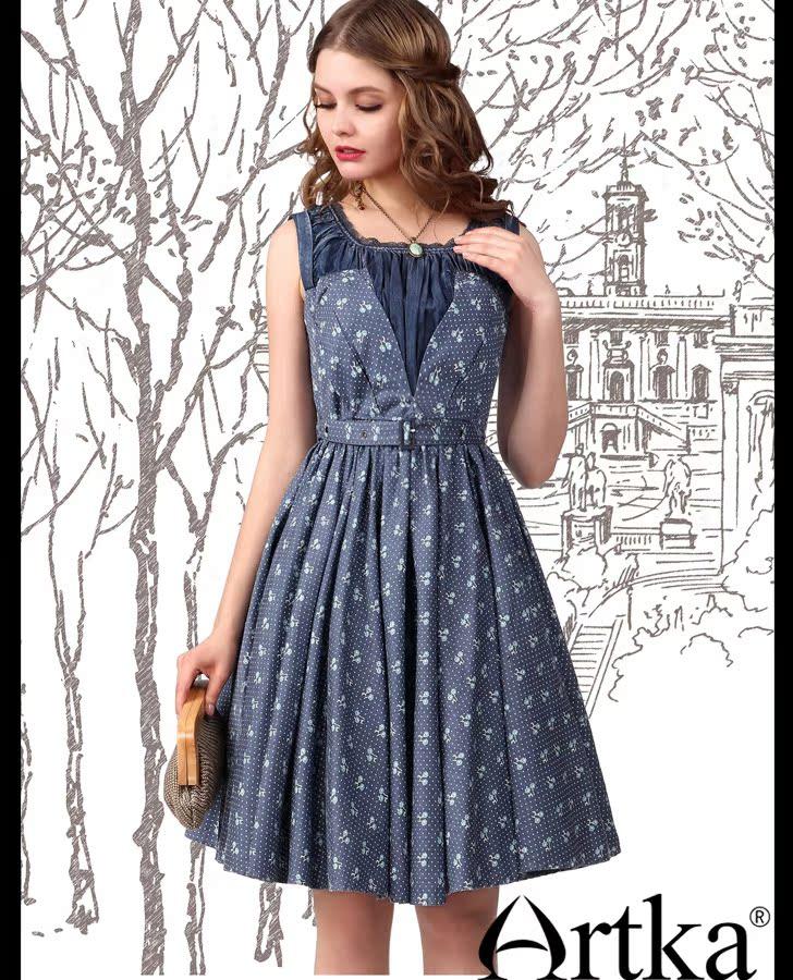 61535ee8908 Одежда   Летнее платье-кокетка с вырезом