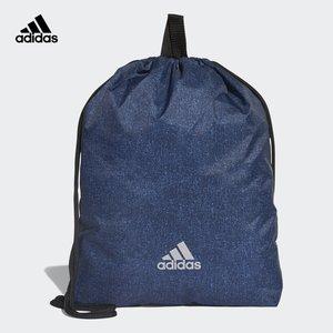 阿迪达斯官方 adidas RUNGYM BAG 男女跑步抽绳袋 CY6089