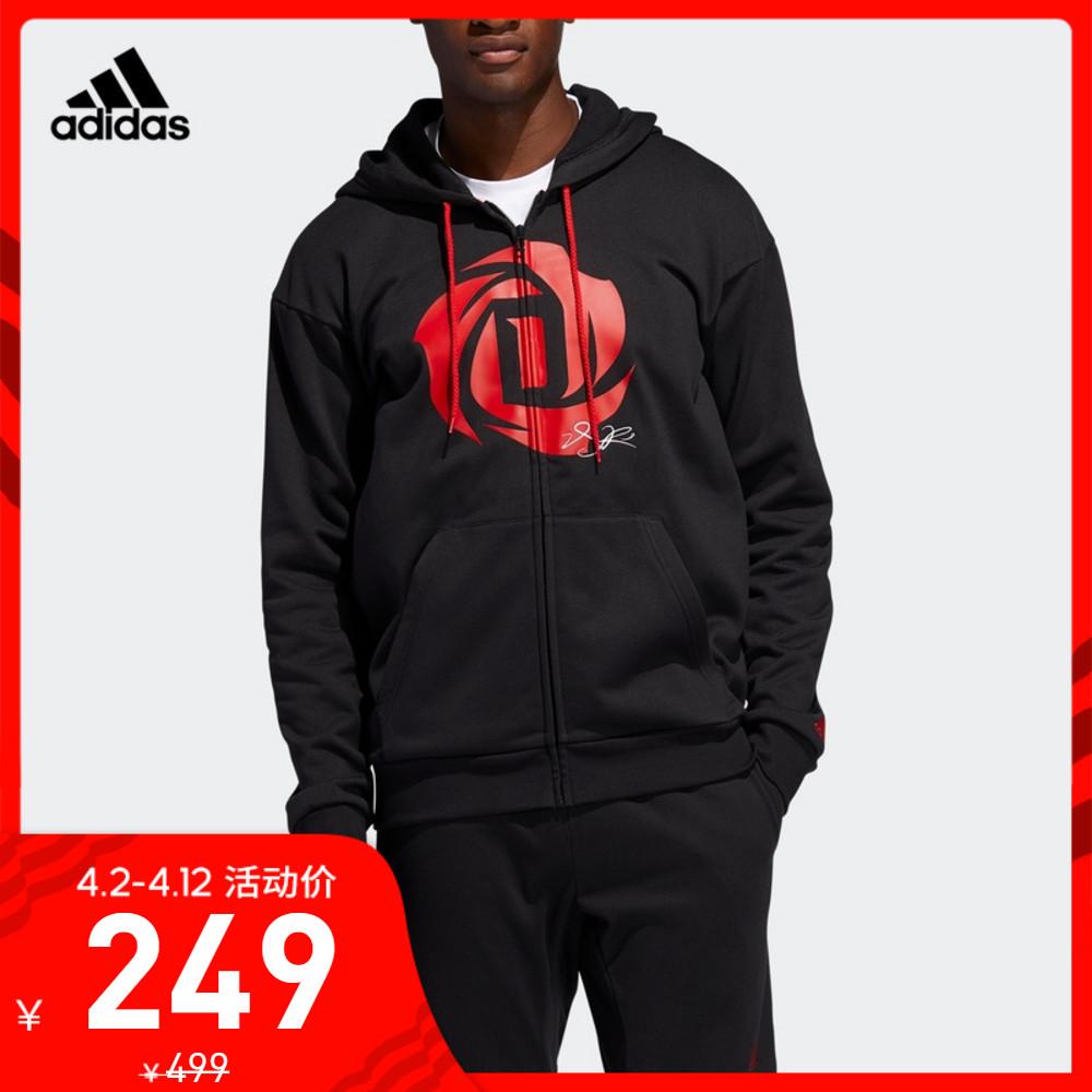 Trang web chính thức của Adidas Áo khoác thể thao nam bóng rổ Adidas ROSE HOODIE - Áo khoác thể thao / áo khoác