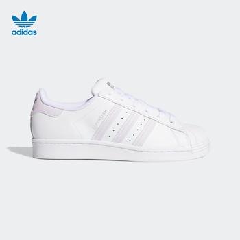 Adidas официальный сайт  adidas клевер  SUPERSTAR W женщина классическая спортивной обуви FV3374, цена 12229 руб