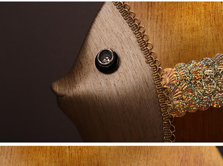 〖洋碼頭〗歐式擺件創意家居裝飾品陶瓷客廳工藝品情侶魚電視櫃擺件結婚禮物 ysh511