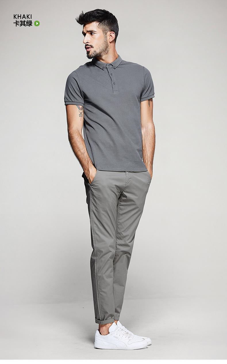 [] Quần áo mát mẻ để mua quần âu nam giới mỏng quần mỏng mùa hè của nam giới xu hướng thời trang feet quần
