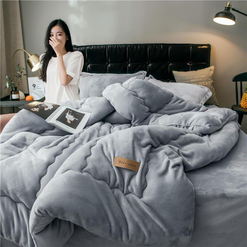 法莱绒被子冬被加厚保暖被芯双人全棉冬天冬季棉被1.5米酒店10斤m