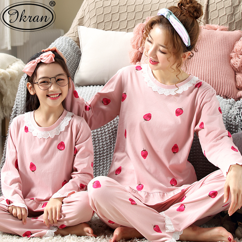 USD 42.25  Girls pajamas spring and autumn cotton long-sleeved suit ... 7351af839