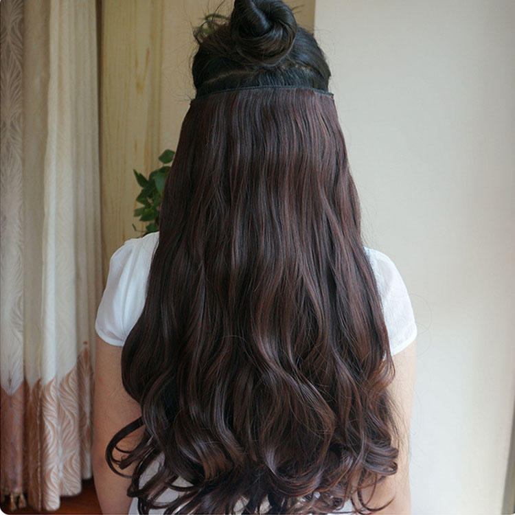 Usd 1662 Not Shiny Thickened A Piece Of Curly Hair Large Waves In