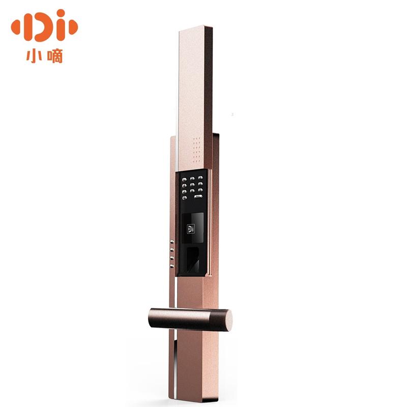 德施曼小嘀智能指纹锁家用防盗门密码锁门锁智能锁电子门锁T7