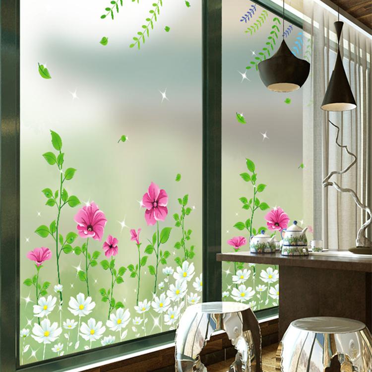 静电磨砂玻璃贴膜透光不透明窗户贴纸 浴室卫生间阳台窗花贴遮光