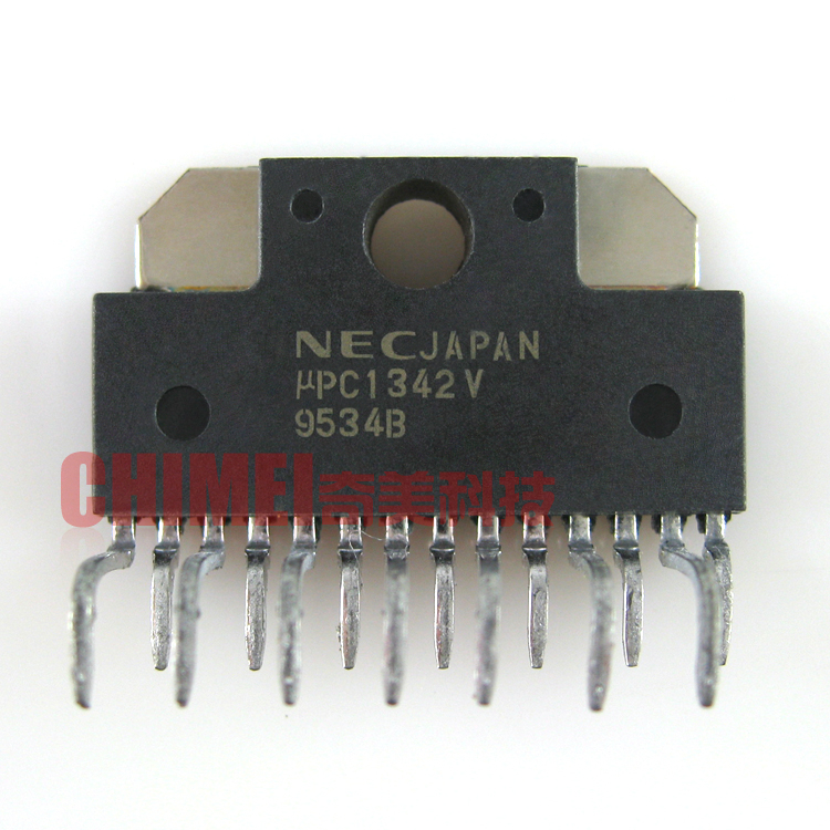 (Original disassemble) UPC1342V audio power amplifier IC chip integrated  circuit electronic components