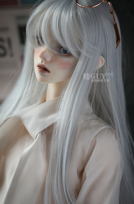 taobao agent Baby GUY spot bjd sd10 13 17 male doll wig hair 3 points uncle 4 points female fake hair long broken hair