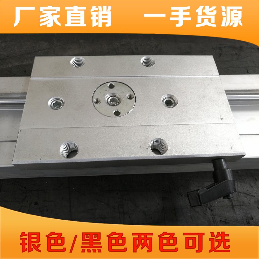 锁紧内置双轴心直线导轨SGR10 15N 20 25 35滑块光轴滑轨摄影器材 (图7)