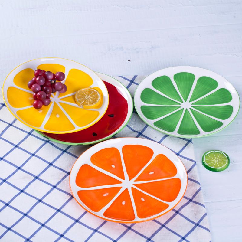 Цвет: Фрукты овощи четыре цвета пластины каждого