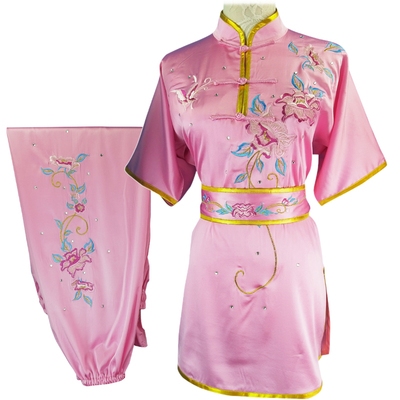 Chinese Martial Arts Clothes Kungfu Clothe  Tai Chi Wushu Competition Performing Colored Clothes,
