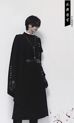 taobao agent 【PC original design】Flurry sky military uniform spring and autumn handsome long-sleeved trench coat