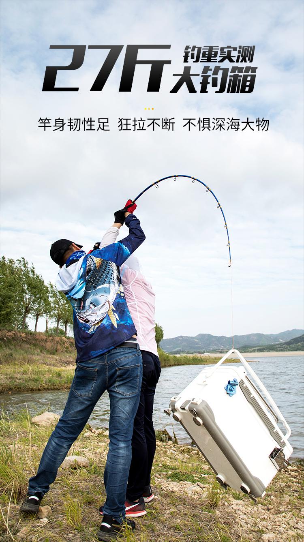 船鹰铁板竿船竿钓竿深海钓高碳素手工竿米拖钓竿鱼桿详细照片