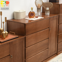 Bedroom five or six bucket cabinets solid wood lockers Storage Cabinets Drawer Cabinets