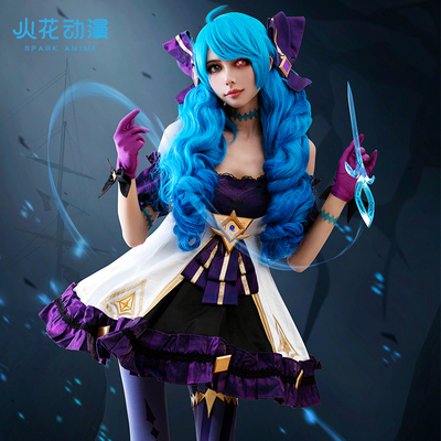 taobao agent Spark anime lol League of Legends cos clothing Ling Luo doll Gwen cos game set cosplay costume female