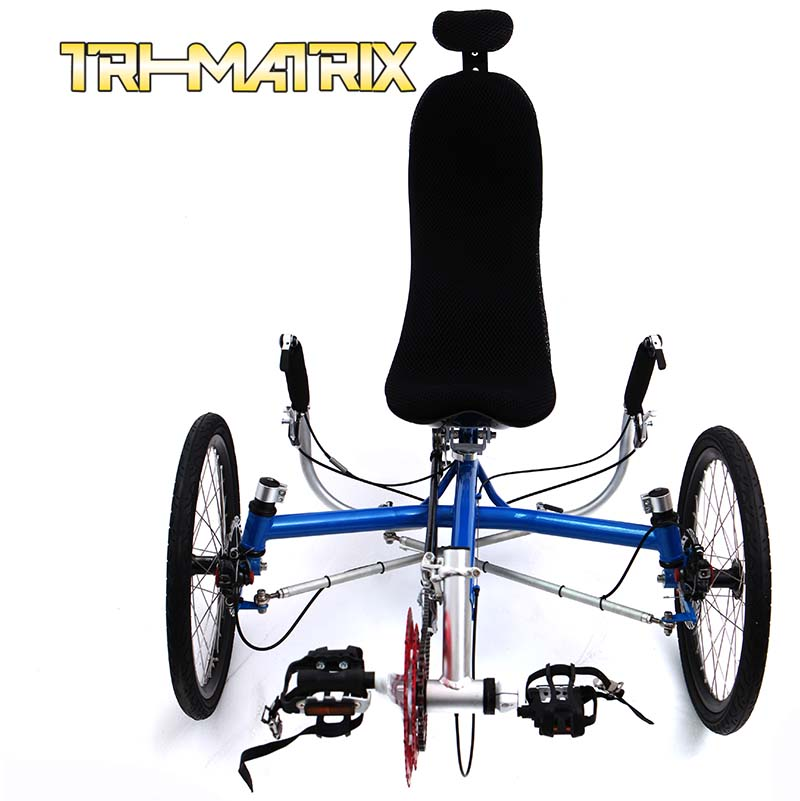 Лежачий велосипед Tri/matrix  TRIDENTTRIKES Transport20