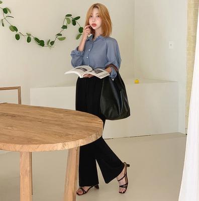 2020夏款韩国代购正品女装mocobling-长裤