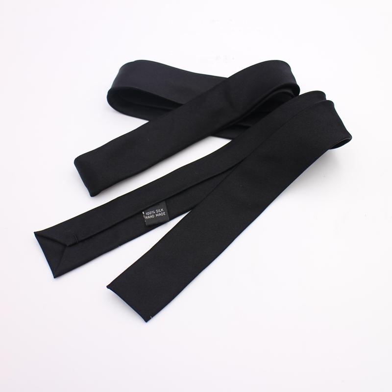 包邮韩版平头针织纯色窄领带正装商务休闲百搭潮男女英伦学院风
